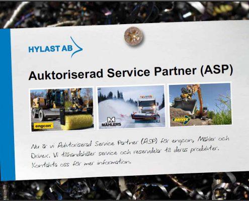 Engcon, Mählers & Drivex auktoriserad service partner